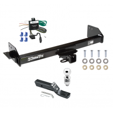 """Trailer Tow Hitch For 97-04 Mitsubishi Montero Sport Complete Package w/ Wiring and 2"""" Ball"""