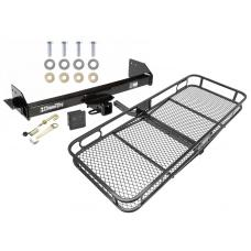 Trailer Tow Hitch For 97-04 Mitsubishi Montero Sport Basket Cargo Carrier Platform Hitch Lock and Cover