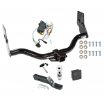 """Trailer Tow Hitch For 96-04 Nissan Pathfinder 97-03 Infiniti QX4 Deluxe Package Wiring 2"""" Ball and Lock"""