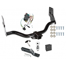 "Trailer Tow Hitch For 96-04 Nissan Pathfinder 97-03 Infiniti QX4 Deluxe Package Wiring 2"" Ball and Lock"