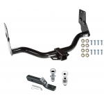 """Trailer HitcTrailer Tow Hitch For 96-04 Nissan Pathfinder 97-03 Infiniti QX4 Receiver w/ 1-7/8"""" and 2"""" Ball"""