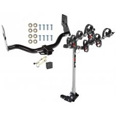 Trailer Tow Hitch For 96-04 Infiniti QX4 Nissan Pathfinder 4 Bike Rack w/ Hitch Lock and Cover