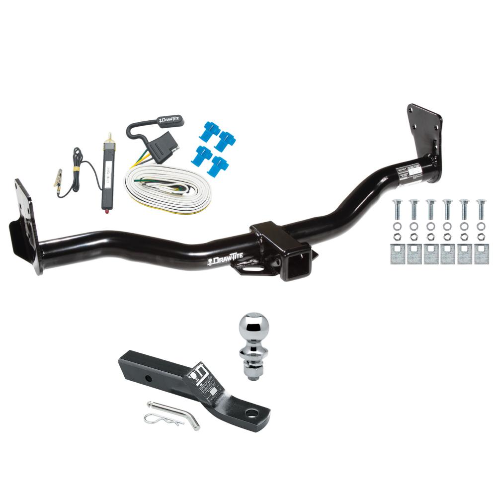 [ZHKZ_3066]  Trailer Tow Hitch For 95-05 Chevy Blazer Trailblazer GMC Jimmy Bravada  Complete Package w/ Wiring and 1-7/8
