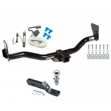 "Trailer Tow Hitch For 95-05 Chevy Blazer Trailblazer GMC Jimmy Bravada Complete Package w/ Wiring and 1-7/8"" Ball"