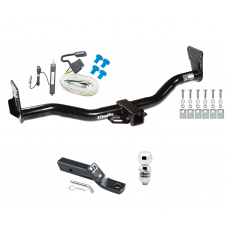 "Trailer Tow Hitch For 95-05 Chevy Blazer Trailblazer GMC Jimmy Bravada Complete Package w/ Wiring and 2"" Ball"