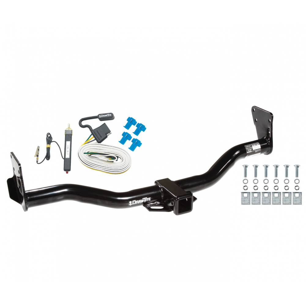 trailer tow hitch for 95-05 chevy blazer trailblazer gmc jimmy bravada w/  wiring harness kit