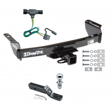 """Trailer Tow Hitch For 93-99 Ford Ranger 94-09 Mazda B-Series Complete Package w/ Wiring and 1-7/8"""" Ball"""