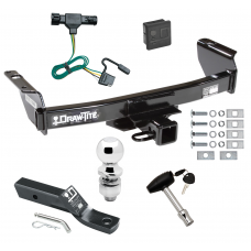 """Trailer Tow Hitch For 93-99 Ford Ranger 94-09 Mazda B-Series Deluxe Package Wiring 2"""" Ball and Lock"""