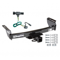 Trailer Tow Hitch For 93-99 Ford Ranger 94-09 Mazda B-Series w/ Wiring Harness Kit