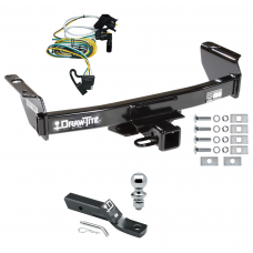 "Trailer Tow Hitch For 00-03 Ford Ranger Complete Package w/ Wiring and 1-7/8"" Ball"