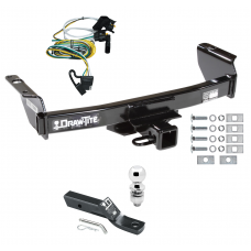 "Trailer Tow Hitch For 00-03 Ford Ranger Complete Package w/ Wiring and 2"" Ball"