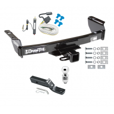"Trailer Tow Hitch For 04-11 Ford Ranger Complete Package w/ Wiring and 2"" Ball"