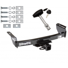 Trailer Tow Hitch For 83-12 Ford Ranger 94-10 Mazda B Series w/ Security Lock Pin Key