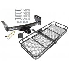 """Trailer Tow Hitch For 83-12 Ford Ranger Mazda B Series 2"""" Towing Receiver Basket Cargo Carrier Platform Hitch Lock and Cover"""
