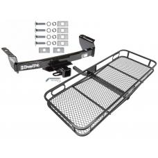 """Trailer Tow Hitch For 83-12 Ford Ranger Mazda B Series 2"""" Towing Receiver Basket Cargo Carrier Platform w/ Hitch Pin"""
