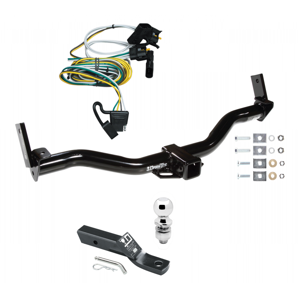 trailer tow hitch for 01 02 ford explorer complete package w wiring Ford Explorer Heated Seats