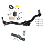 "Trailer Tow Hitch For 95-01 Ford Explorer 97-01 Mercury Mountaineer PKG w/ Wiring and 1-7/8"" Ball"