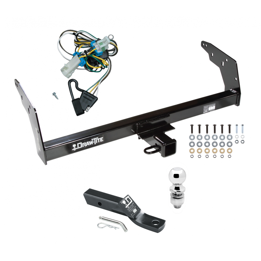 Trailer Tow Hitch For 98 Step Bumper Pkg W   Wiring And 2