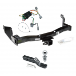 """Trailer Tow Hitch For 1998 Mercury Villager Nissan Quest Complete Package w/ Wiring and 1-7/8"""" Ball"""