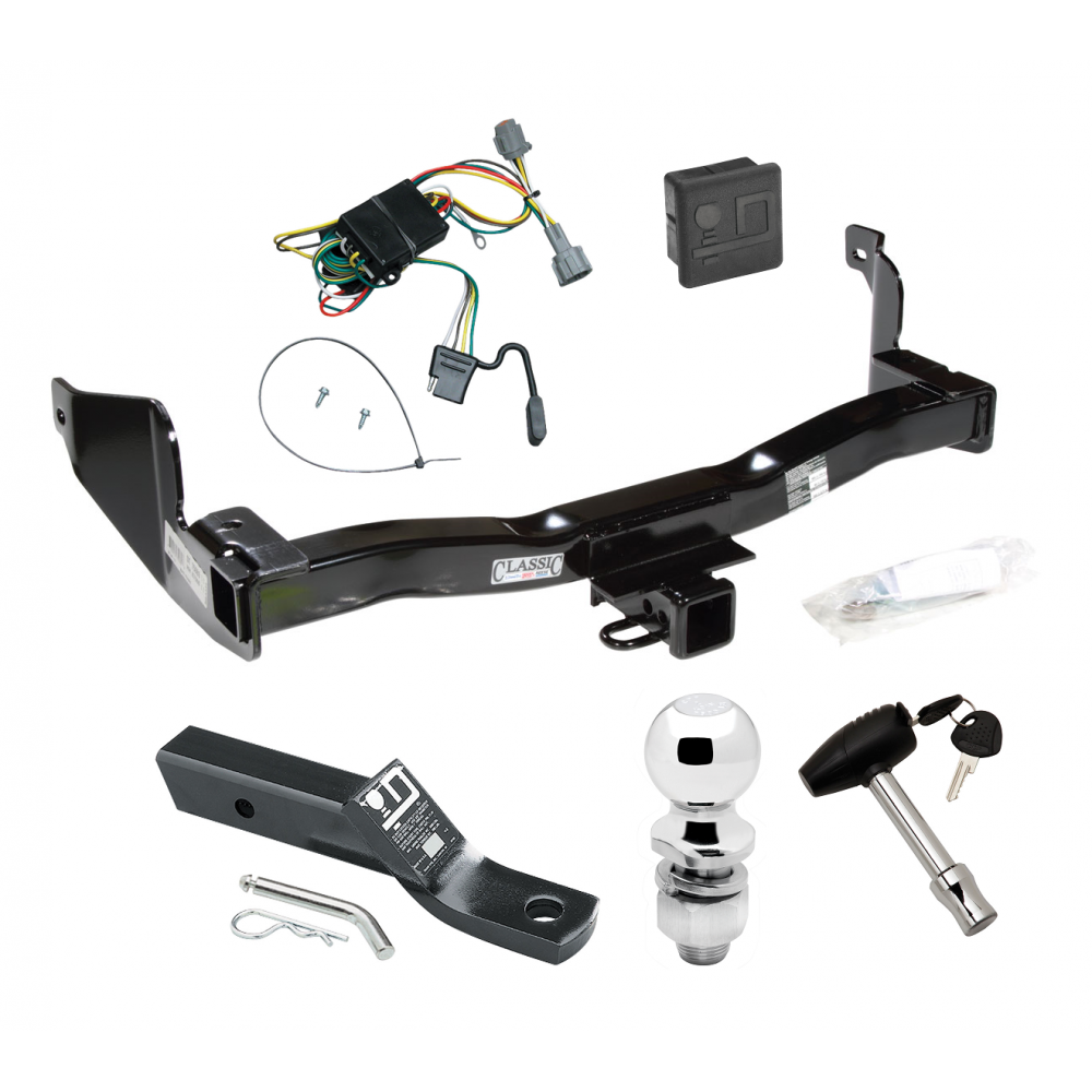 Trailer Tow Hitch For 1998 Mercury Villager Nissan Quest