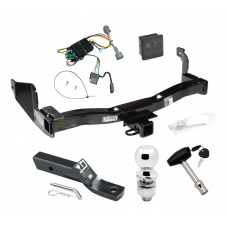 "Trailer Tow Hitch For 1998 Mercury Villager Nissan Quest Deluxe Package Wiring 2"" Ball and Lock"