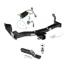 "Trailer Tow Hitch For 1998 Mercury Villager Nissan Quest Complete Package w/ Wiring and 2"" Ball"