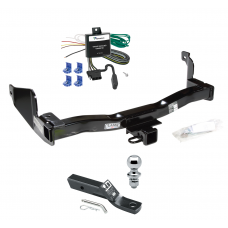"Trailer Tow Hitch For 93-97 Mercury Villager Nissan Quest Complete Package w/ Wiring and 1-7/8"" Ball"