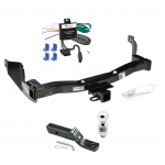 """Trailer Tow Hitch For 93-97 Mercury Villager Nissan Quest Complete Package w/ Wiring and 2"""" Ball"""