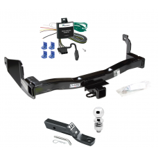 "Trailer Tow Hitch For 93-97 Mercury Villager Nissan Quest Complete Package w/ Wiring and 2"" Ball"