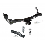 """Trailer Tow Hitch For 93-98 Mercury Villager Nissan Quest Receiver w/ 1-7/8"""" and 2"""" Ball"""