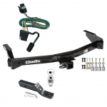 "Trailer Tow Hitch For 94-98 Dodge B-Series Van Complete Package w/ Wiring and 2"" Ball"