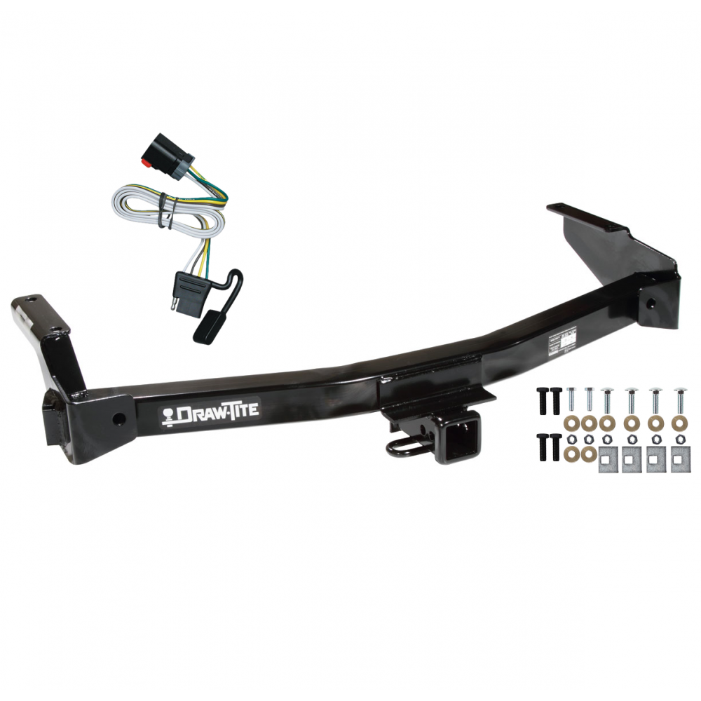 trailer tow hitch for 99 00 dodge van ram w wiring. Black Bedroom Furniture Sets. Home Design Ideas