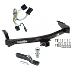 "Trailer Tow Hitch For 01-03 Dodge Van Ram Complete Package w/ Wiring and 1-7/8"" Ball"