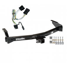 Trailer Tow Hitch For 01-03 Dodge Van Ram w/ Wiring Harness Kit