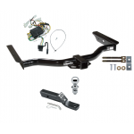 "Trailer Tow Hitch For 96-02 Toyota 4Runner Complete Package w/ Wiring and 1-7/8"" Ball"
