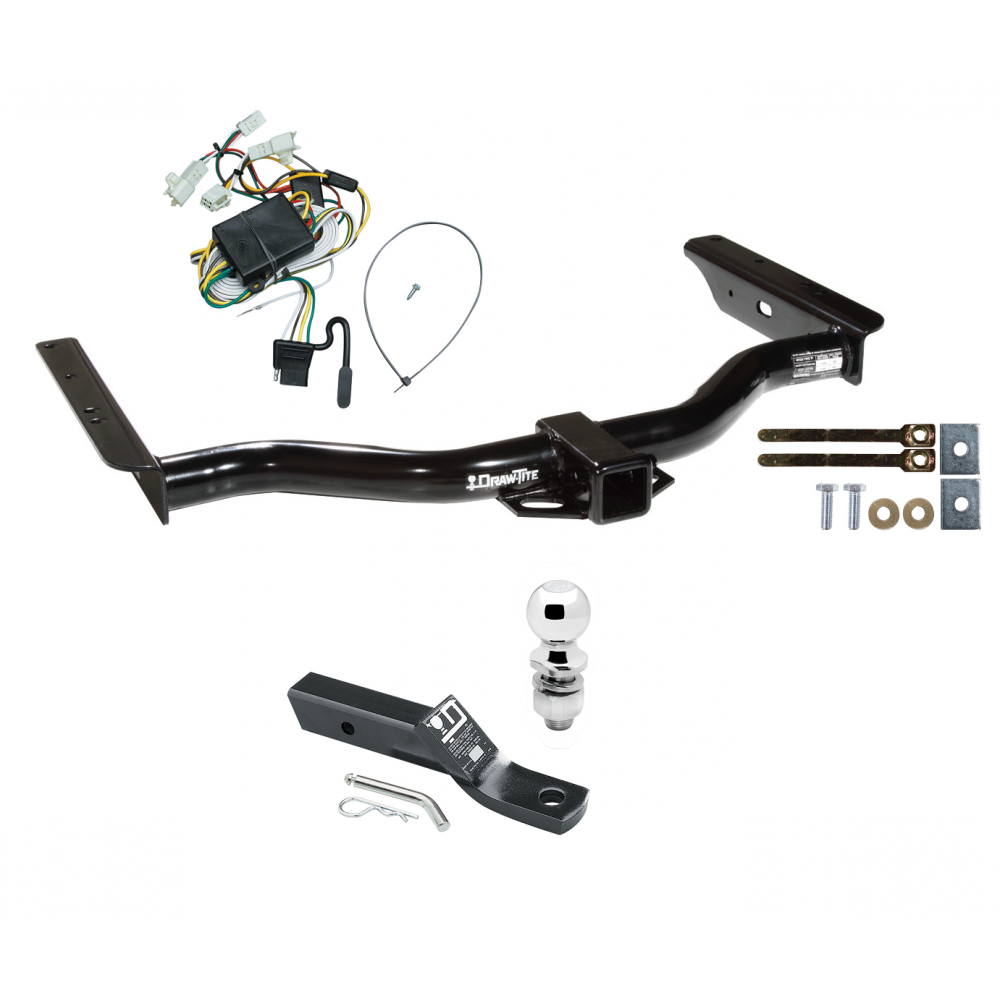 trailer tow hitch for 96-02 toyota 4runner complete package w/ wiring and  2