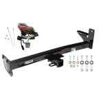 Trailer Tow Hitch For 98-01 Honda Passport Isuzu Rodeo w/Door Spare w/ Wiring Harness Kit