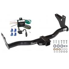 Trailer Tow Hitch For 02-03 Isuzu Axiom w/Under Vehicle Spare w/ Wiring Harness Kit