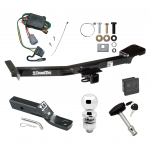 """Trailer Tow Hitch For 98-99 Toyota Land Cruiser Lexus LX470 Deluxe Package Wiring 2"""" Ball and Lock"""