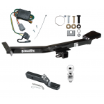 "Trailer Tow Hitch For 98-99 Toyota Land Cruiser Lexus LX470 Complete Package w/ Wiring and 2"" Ball"
