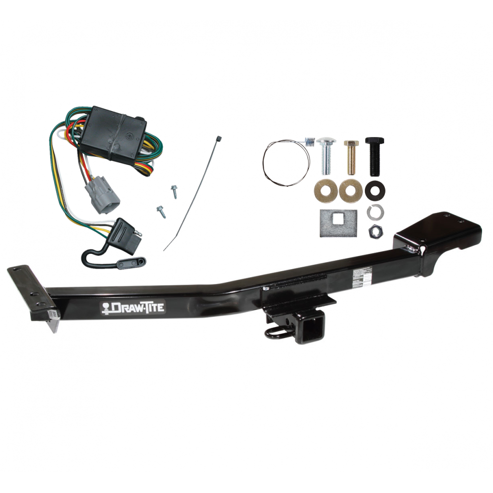 trailer tow hitch for 98-99 toyota land cruiser lexus lx470 w/ wiring  harness kit