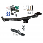 """Trailer Tow Hitch For 00-07 Toyota Land Cruiser Lexus LX470 Complete Package w/ Wiring and 1-7/8"""" Ball"""