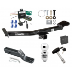"""Trailer Tow Hitch For 00-07 Toyota Land Cruiser Lexus LX470 Deluxe Package Wiring 2"""" Ball and Lock"""