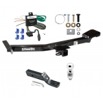 "Trailer Tow Hitch For 00-07 Toyota Land Cruiser Lexus LX470 Complete Package w/ Wiring and 2"" Ball"