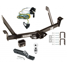 "Trailer Tow Hitch For 01-02 Ford Explorer 2 Dr. Sport Complete Package w/ Wiring and 2"" Ball"