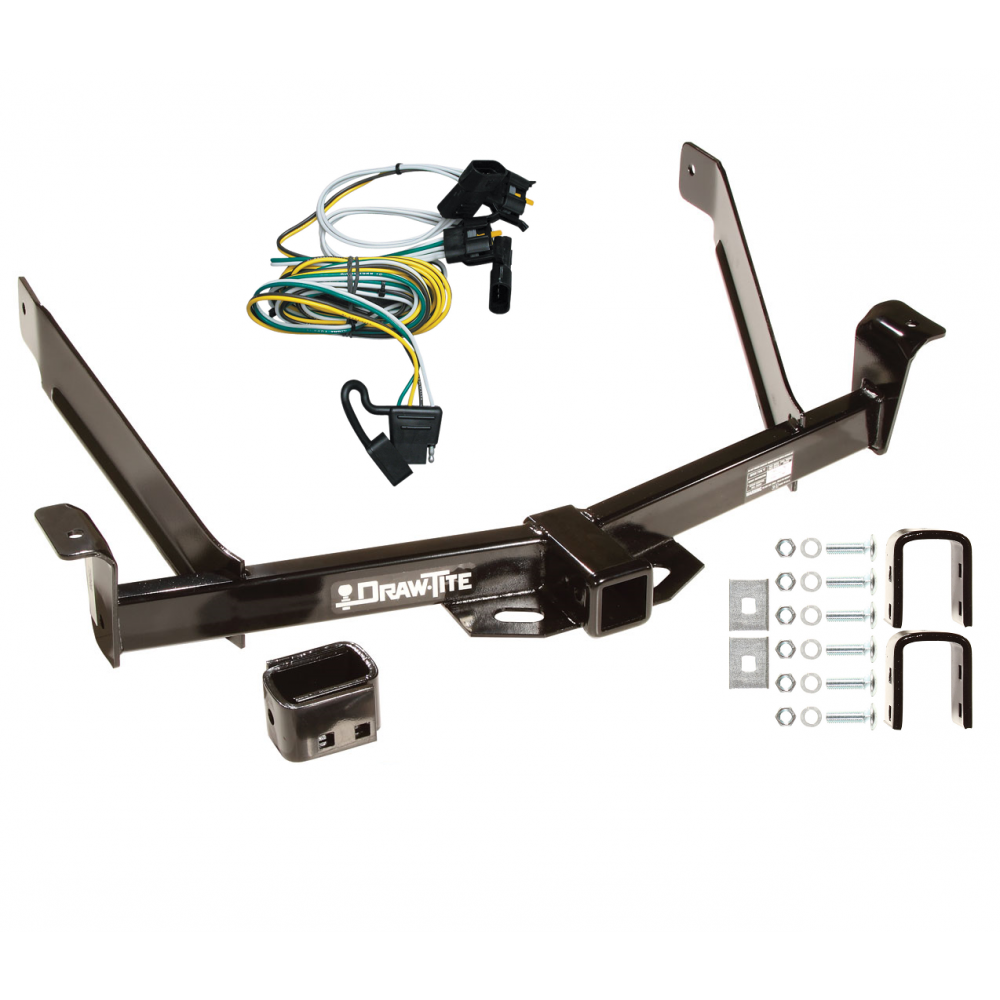 Trailer Tow Hitch For 95-01 Ford Explorer 97-01 Mercury Mountaineer w/ Wiring  Harness KitTrailerJacks.com