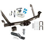 "Trailer Tow Hitch For 91-94 Ford Explorer Mazda Navajo Complete Package w/ Wiring and 1-7/8"" Ball"