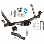"Trailer Tow Hitch For 91-94 Ford Explorer Mazda Navajo Complete Package w/ Wiring and 2"" Ball"