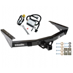 Trailer Tow Hitch For 2000 Toyota Tundra without Factory Towable Bumper w/ Wiring Harness Kit
