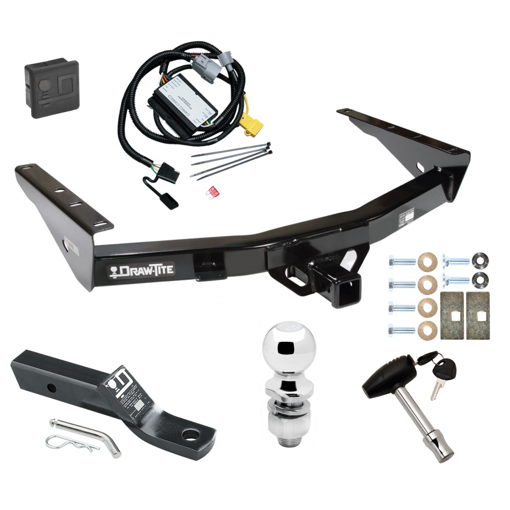 Trailer Tow Hitch For 01-02 Toyota Tundra without Factory ... | Tundra Tow Package Wiring |  | Trailer Jacks